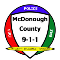 McDonough County 911 Logo